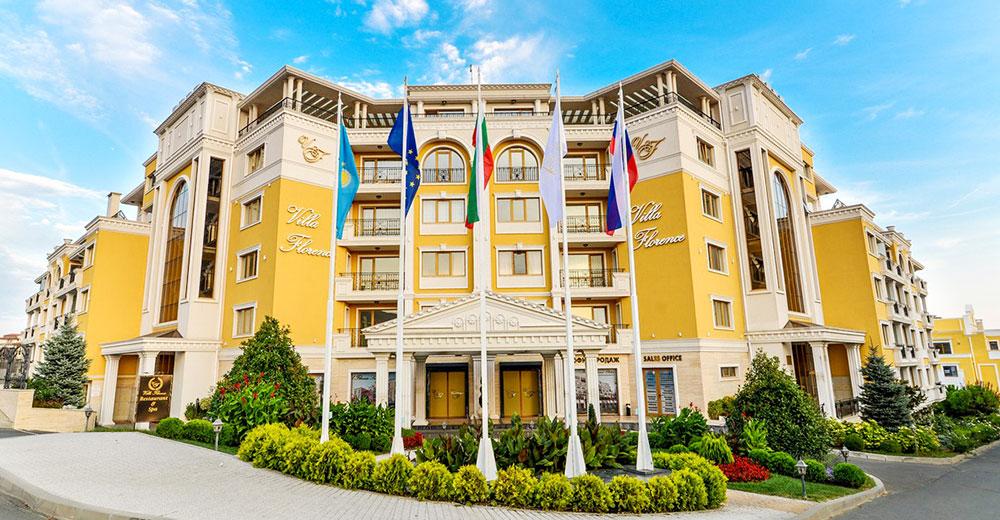 Hotelkomplex «Villa Florenz» in Sveti Vlas Bulgarien